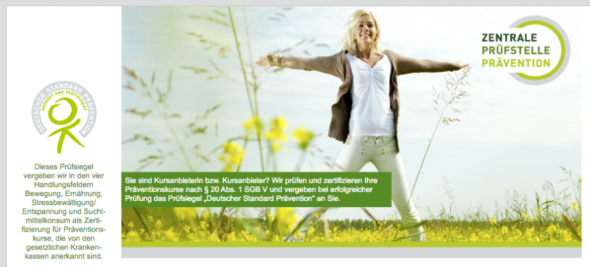Deutscher Standard Prävention – balori® Präventionskurse anerkannt