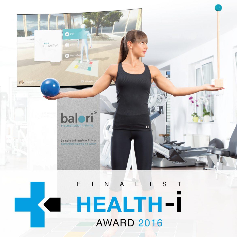 balori® e-coordination training auf der Medica 2016